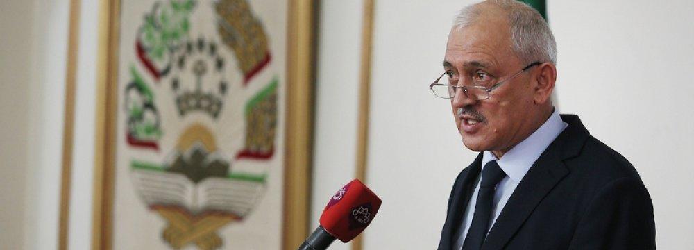 Tajik Ambassador Hails Ties