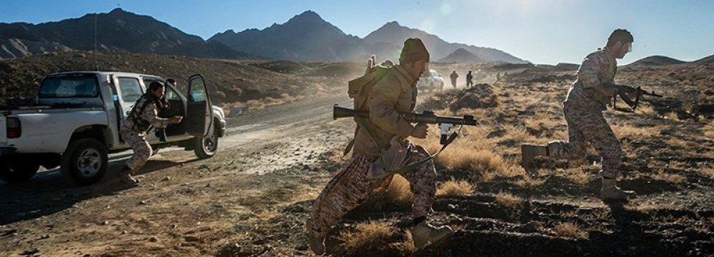 IRGC Dismantles Terror Outfit