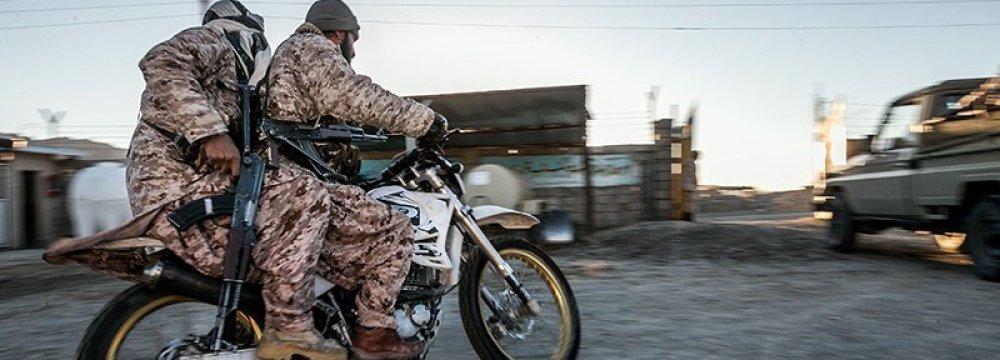 IRGC: 3 Terrorists Killed Near Western Border