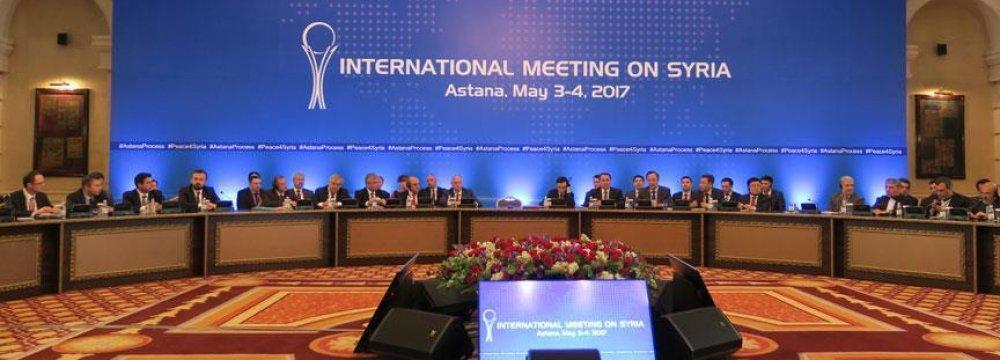 Trio to Meet Ahead of  Syria talks