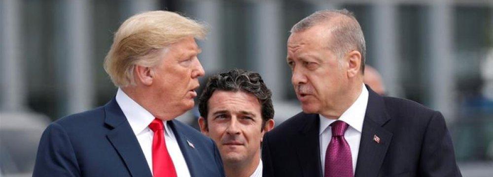 US Sanctions on Turkey Censured