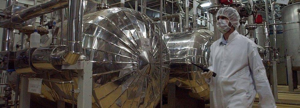Diplomats: Iran to Receive Natural Uranium