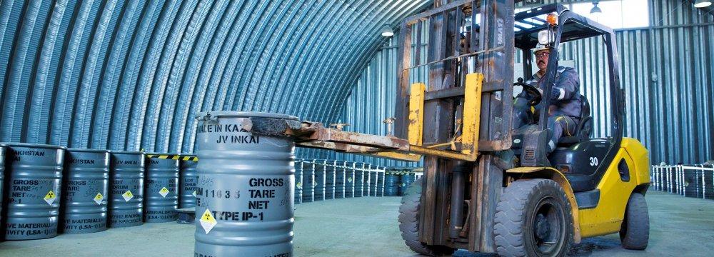 Kazatomprom Plans to Supply Uranium to Iran