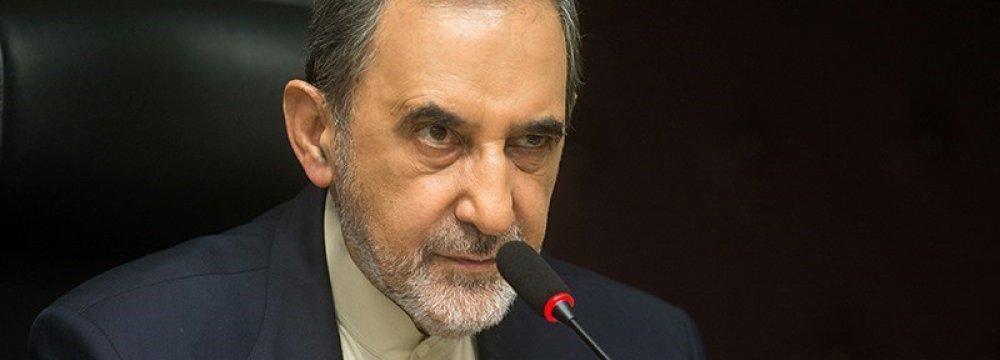 Velayati Holds High-Level Talks in Lebanon