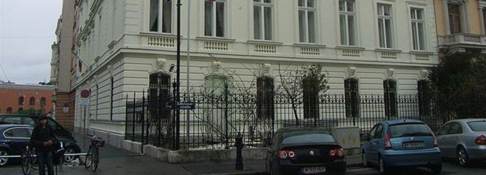 Attack on Envoy's Vienna Residence 'Suspicious'