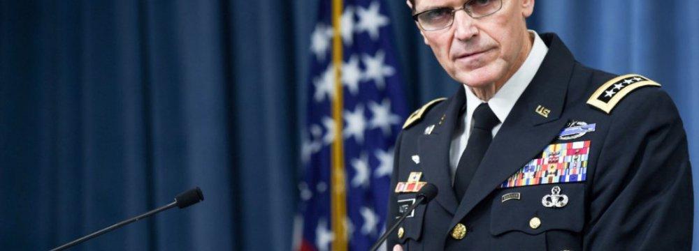 US Centcom Feels Threatened by Iran