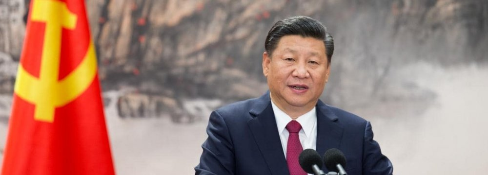 China's Xi: Persian Gulf Disputes Should Be Resolved Peacefully