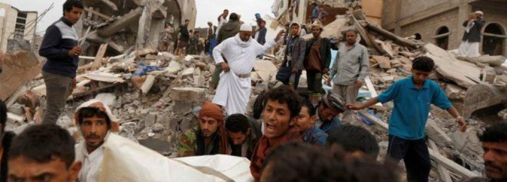 Saudi, UAE Bombing on Yemeni Civilians Denounced