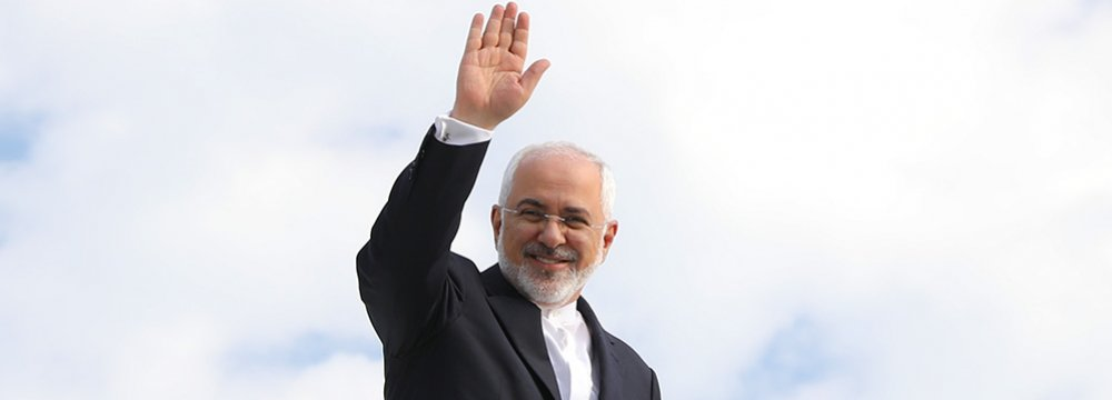 Zarif Due in Kuwait Before Scandinavia Tour