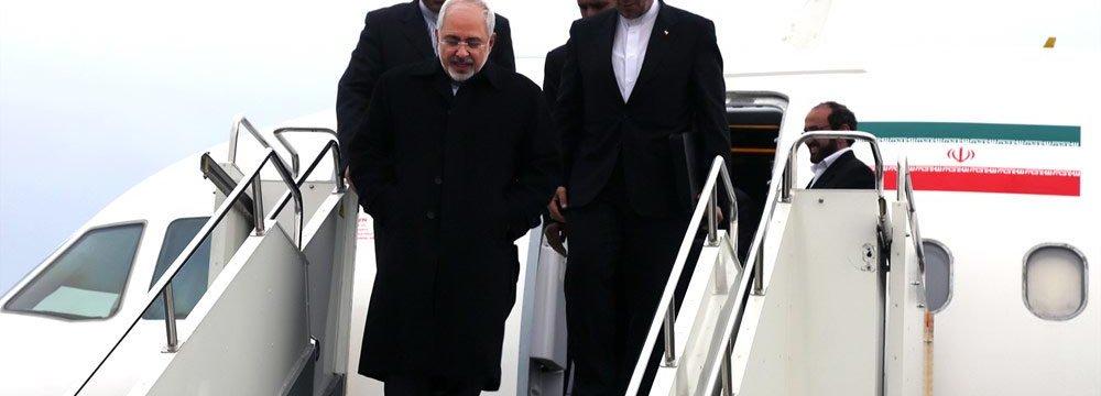 Zarif Visiting Kabul
