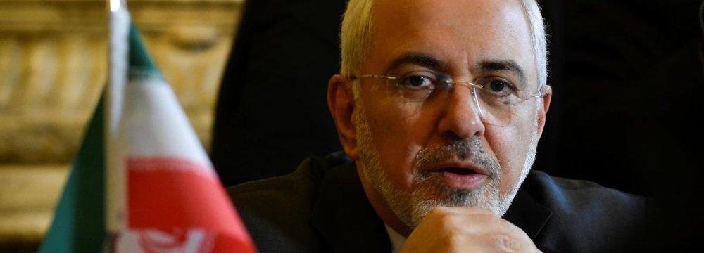 Zarif Will Sign Friendship Treaty With ASEAN