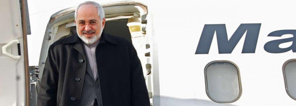 Zarif in Munich  to Attend Security Confab