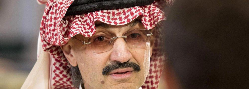 Alwaleed bin Talal Hung Upside Down and Beaten by US Mercenaries