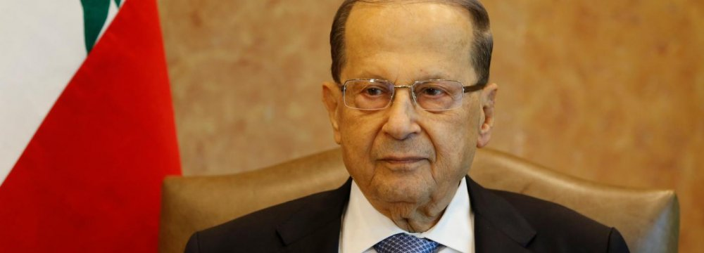 Lebanon President Upbeat on Hariri's Comments