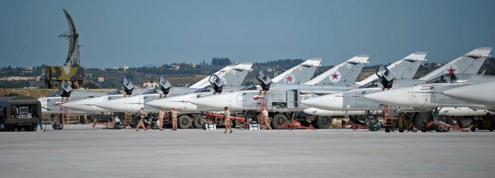 Russia Establishing Permanent Military Presence in Syria
