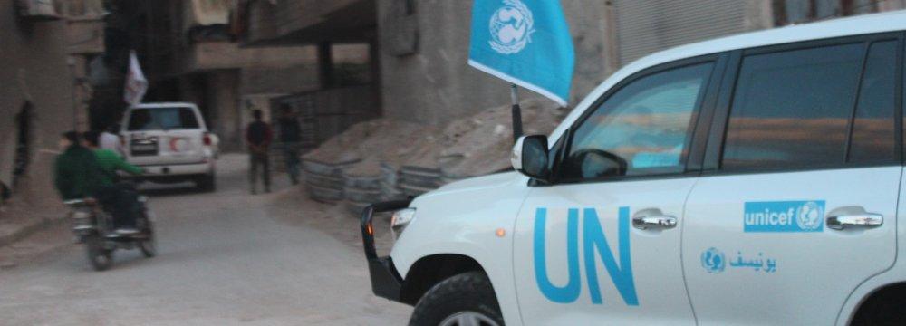 Medical Evacuations Begin in Rebel-Held Eastern Ghouta
