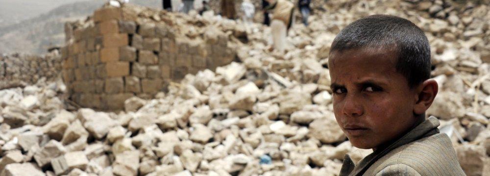 Saudi Alliance Bombs Sanaa Airport, Blocking Aid Access