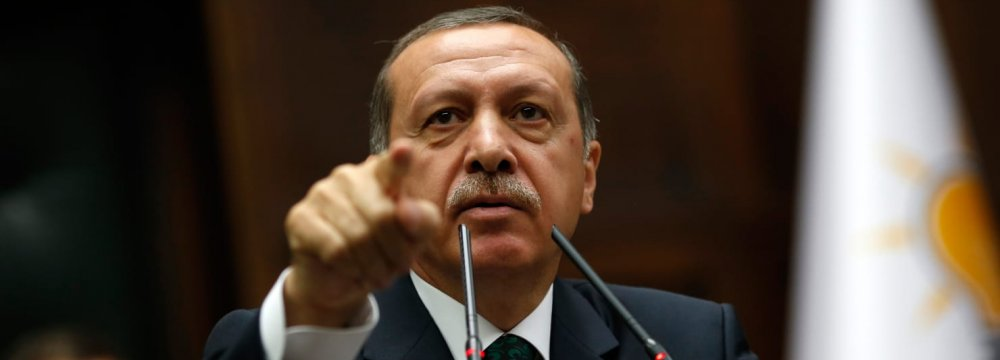 Turkey Leader Warns UAE Over Ottoman Comment