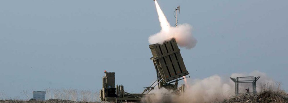 Israeli Missiles Hit Military Site Near Damascus Outskirts