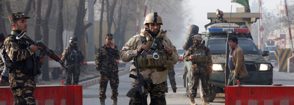 Kabul Suicide Bomb Kills  at Least 10