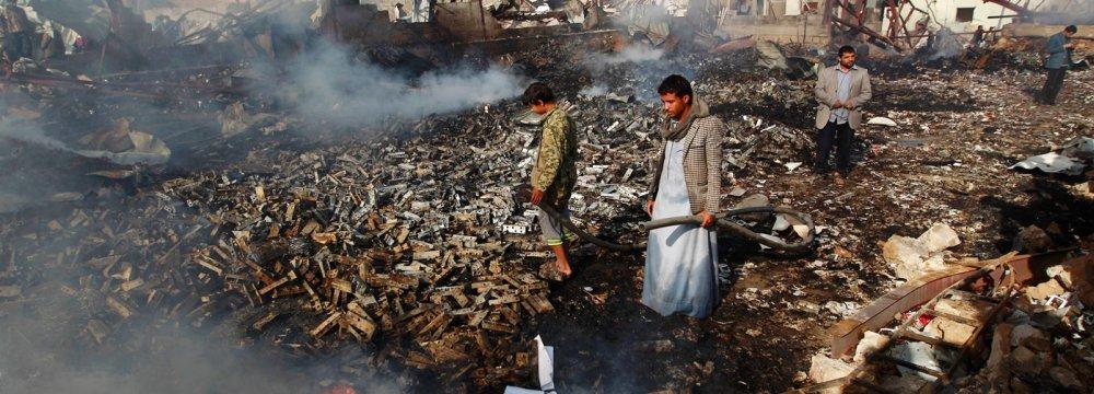 At Least 39 Yemenis Dead in Saudi-Led Raid on Police Camp