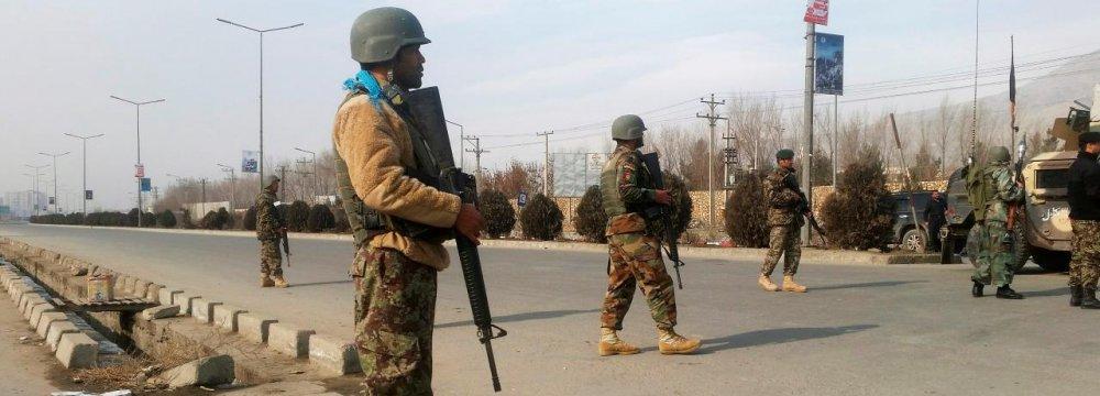 Militants Storm Kabul Spy Training Center