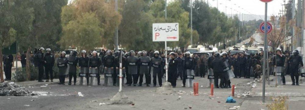 Protests in Iraqi Kurdistan Continue to Demand Resignation of Politicians