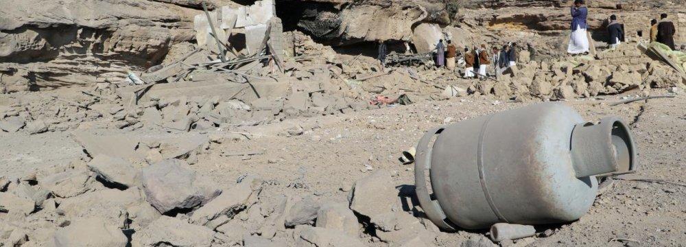 Saudi-Led Coalition Intensifies Yemen Airstrike
