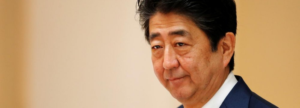 Abe Hails  Fresh Start to Japan-China Ties