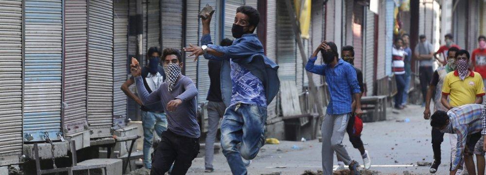 Fierce Fighting in Kashmir