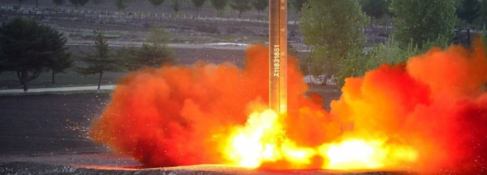 N. Korea: Nuclear War Could Break Out at 'Any Moment'
