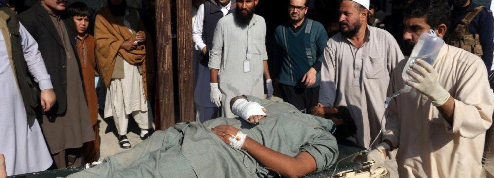 9 Killed as  Taliban Attack Pakistani College