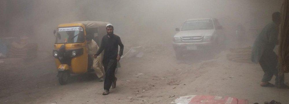 Three Killed in Blast in Afghan City