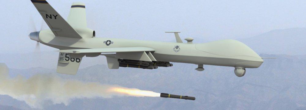 US Drone Kills  15 Afghan Police