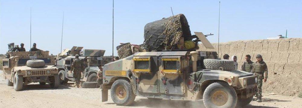 11 Soldiers,  17 Taliban Killed  in Afghanistan