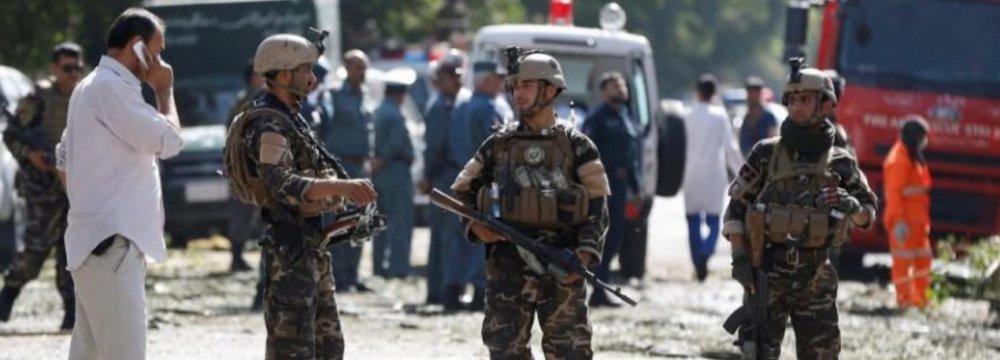 Taliban Suicide Bomber Kills Dozens in Kabul