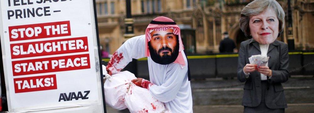 """UK Politicians Brand Saudi Arms Deal """"National Disgrace"""""""