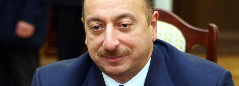 Azerbaijan Calls Snap Presidential Poll