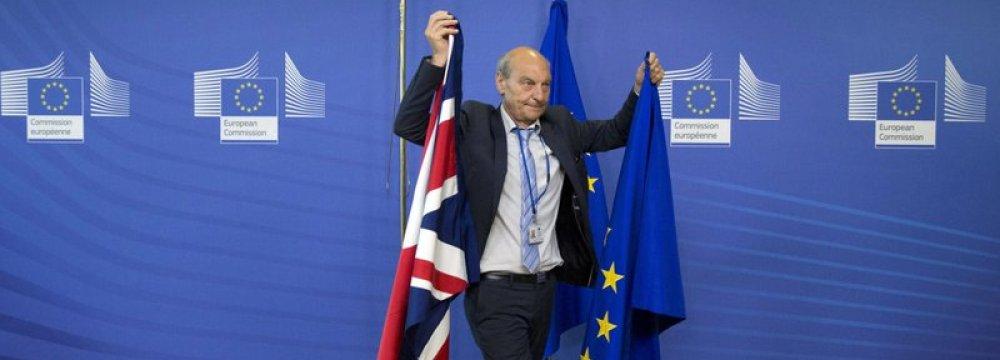 Britain Kicks Off Brexit  Talks With European Union
