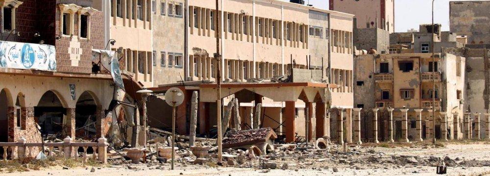 Car Bombs Kill  33 in Benghazi