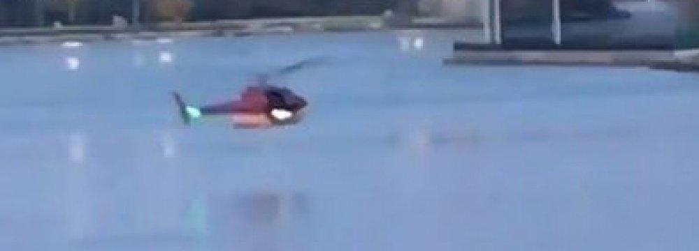 Five Dead in Chopper Crash  in NY River
