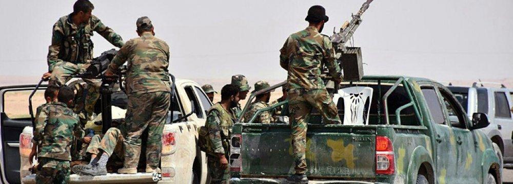 End of Deir al-Zor Siege Major Step in Fight Against Terror