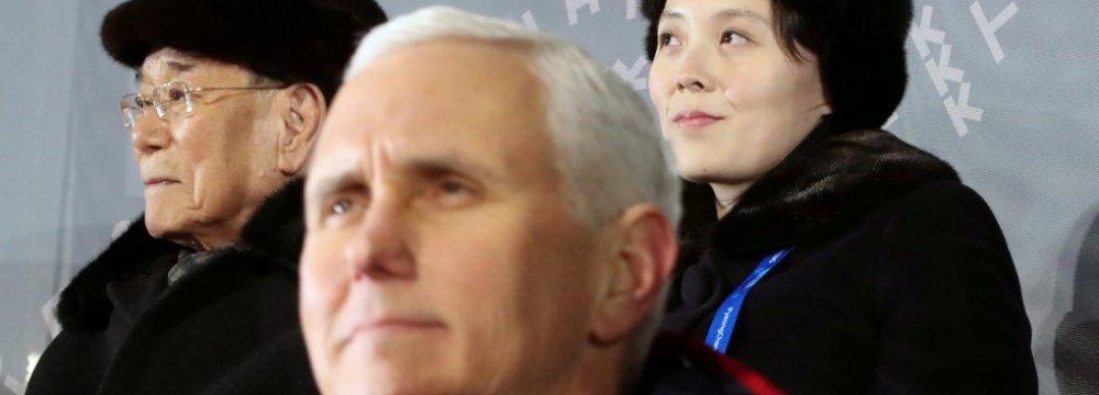 Secret Pence, N. Korea Meeting Planned, Then Scrapped