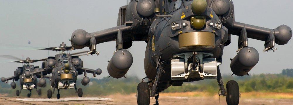 Russia-India  Drills in Fall