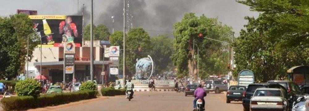 Gunmen Attack French Embassy, Army Headquarters in Burkina Faso
