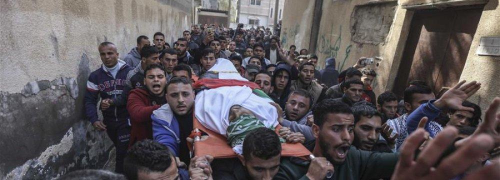 Gaza Fisherman Shot Dead by Egyptian Army