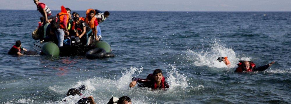 20 Migrants Die  at Sea