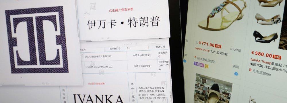 Men Probing Ivanka Trump Brand in China Arrested, Missing