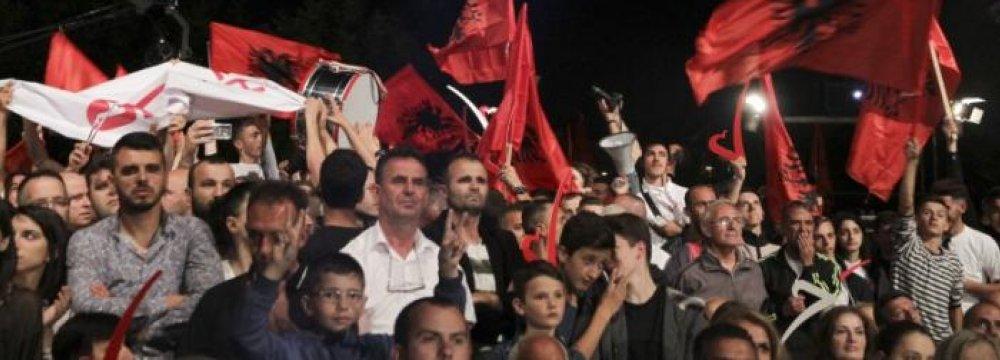 Kosovo Voting Underway