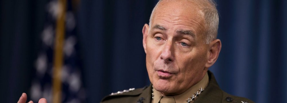 Kelly Defends Plan for Russia Back Channel